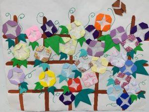折り紙で作りました
